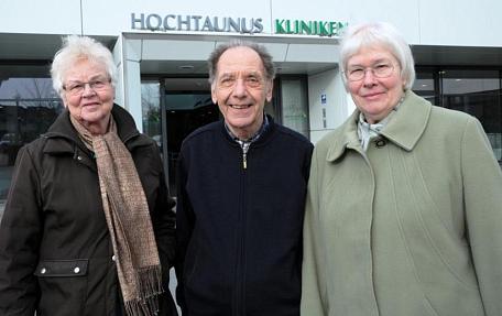 von links nach rechts: Jutta Hessenmüller, Dr. Peter Kuhn, Annemarie Pohlmann