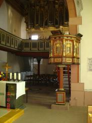 Chorraum mit Altar, Foto: Herbert Stellbrink