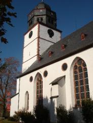 Südseite Ev. Laurentiuskirche, Foto: Herbert Stellbrink