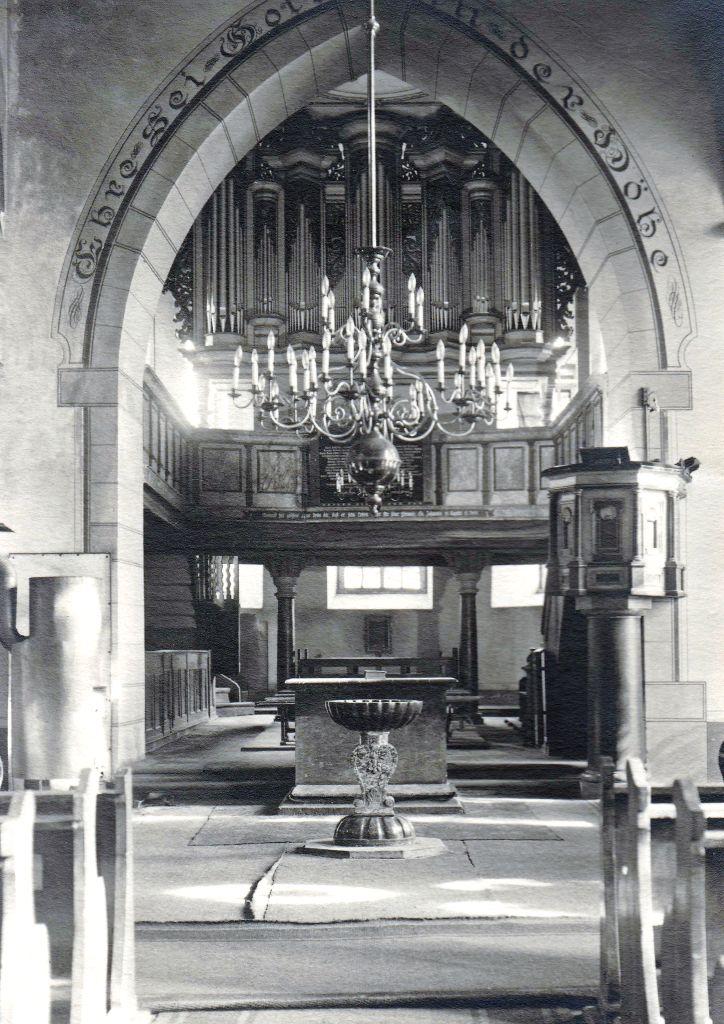 Evang. Laurentiuskirche Usingen um 1930